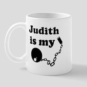 Judith (ball and chain) Mug