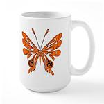 'Butterfly Tattoos Large Mug
