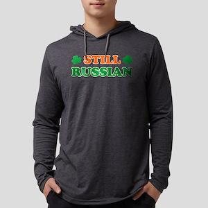 Still Russian Irish Shamrock Long Sleeve T-Shirt