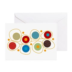 Circles Greeting Cards (Pk of 20)