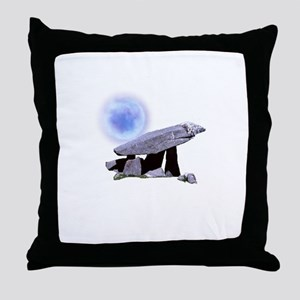 Druid's Moon Throw Pillow