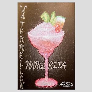 Watermellon Margherita Large Poster
