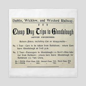 Cheap Trips Glendalough Queen Duvet