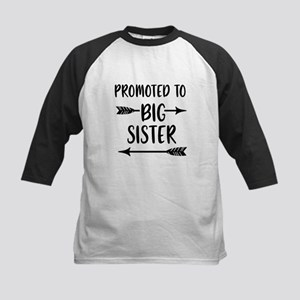 Promoted to Big Sister Baseball Jersey