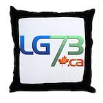 Lg73 Throw Pillow