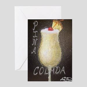 Pin Colada Greeting Card