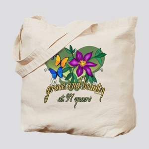 97th Birthday Grace Tote Bag