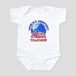 World's Greatest Socia.. (E) Infant Bodysuit