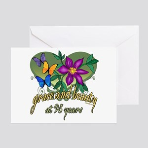 95th Birthday Grace Greeting Card