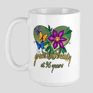 95th Birthday Grace 15 oz Ceramic Large Mug