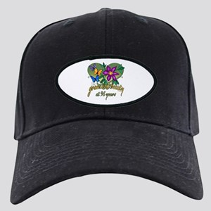 95th Birthday Grace Black Cap with Patch