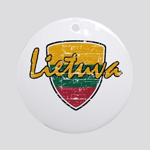 Lietuva Ornament (Round)