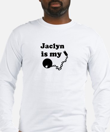 Jaclyn (ball and chain) Long Sleeve T-Shirt