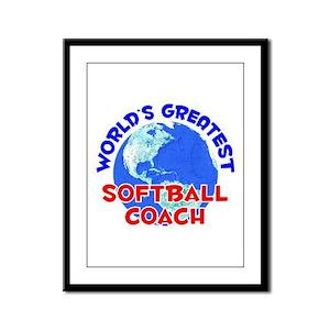 World's Greatest Softb.. (E) Framed Panel Print