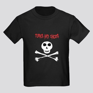 Turks and Caicos Skull and Bones T-Shirt