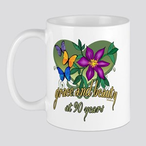 Beautiful 90th Mug