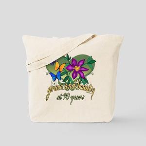 Beautiful 90th Tote Bag