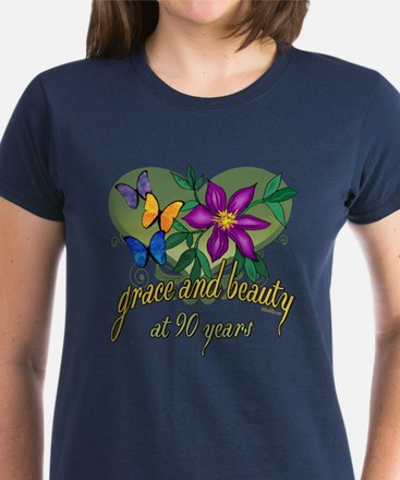 Beautiful 90th Women's Dark T-Shirt