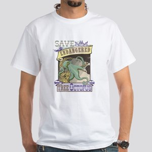 Octopus Ocean Science Funny T-Shirt