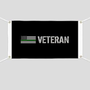 Thin Green Line: Veteran Banner