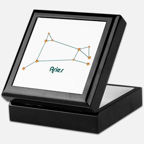 Aries Keepsake Box