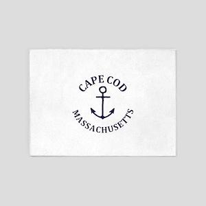 Summer cape cod- massachusetts 5'x7'Area Rug