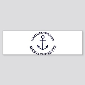Summer Martha's Vineyard- Massachus Bumper Sticker