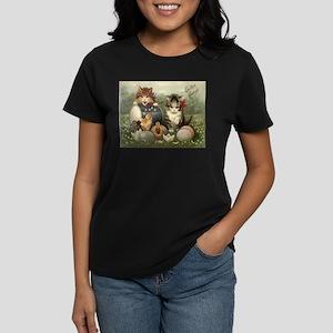 Vintage Easter Women's Dark T-Shirt
