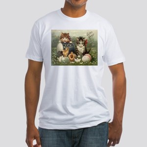 Vintage Easter Fitted T-Shirt