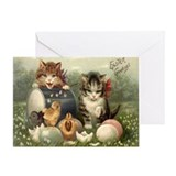 Kittens easter Greeting Cards
