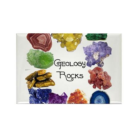 Geology Rocks 8 Rectangle Magnet (100 pack)