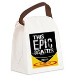 This Epic Disaster Podcast Logo Canvas Lunch Bag