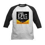 This Epic Disaster Podcast Logo Baseball Jersey