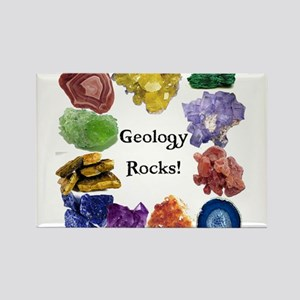 Geology Rocks 13 Rectangle Magnet