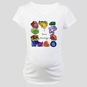 Geology Rocks 15 Maternity T-Shirt