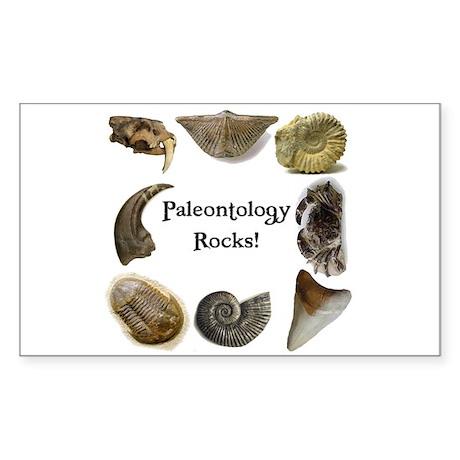 Paleontology 2 Rectangle Sticker