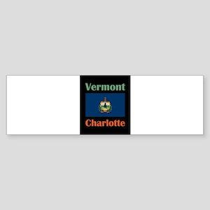 Charlotte Vermont Bumper Sticker
