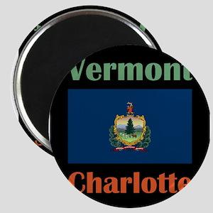 Charlotte Vermont Magnets