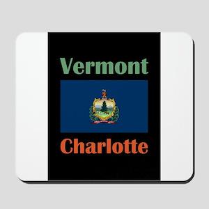 Charlotte Vermont Mousepad