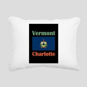 Charlotte Vermont Rectangular Canvas Pillow