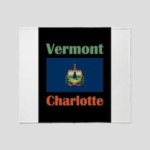 Charlotte Vermont Throw Blanket