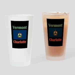 Charlotte Vermont Drinking Glass