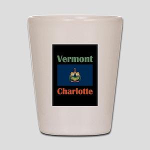 Charlotte Vermont Shot Glass