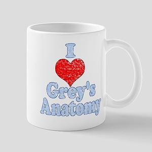 Vintage I heart Grey's Anatomy Mugs