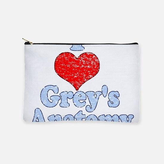 Vintage I heart Grey's Anatomy Makeup Bag