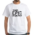 This Epic Disaster Logo Dark Text T-Shirt