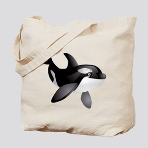 Friendly Orca Tote Bag