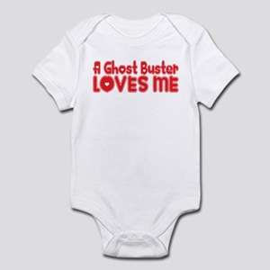 A Ghost Buster Loves Me Infant Bodysuit