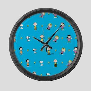 Peanuts Gang Large Wall Clock