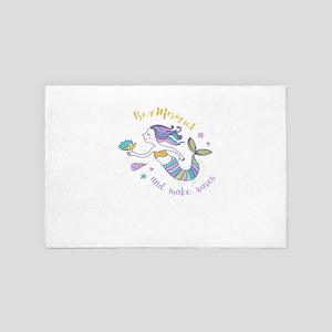 Mermaid 4' x 6' Rug